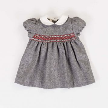 Herringbone flannel dress
