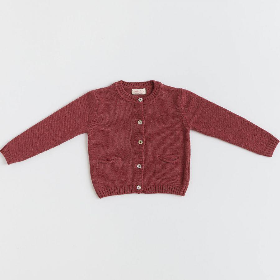Wool/cashmere cardigan