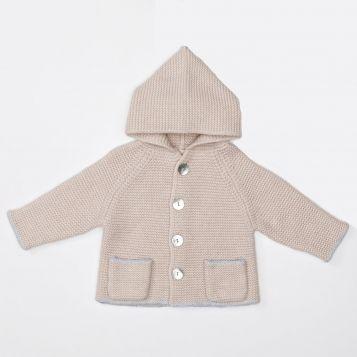 Wool/cashmere jacket